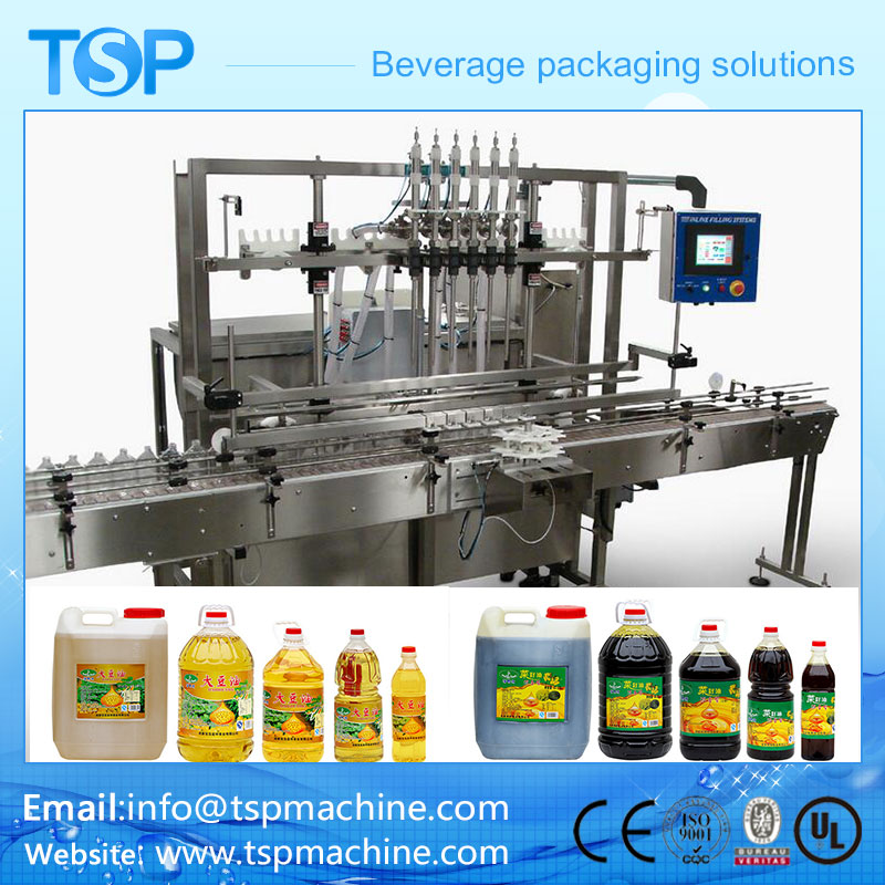 Automatic Linear Cooking Oil ,Edible Oil,Olive Oil,Sunflower Oil Filling Machine Manufacture