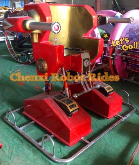 Popular Amusement Rides Robot Walking Rides for Kids Favourites