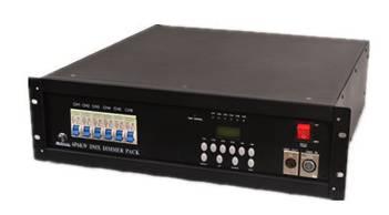 6*6KW   digital dimmer pack AMT-8001P