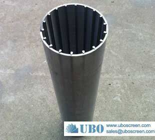 Wedge stainless steel 316 V wire Johnson screen