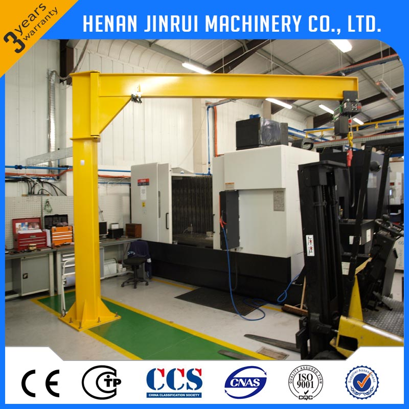 Slewing Column Mounted Cantilever Jib Crane