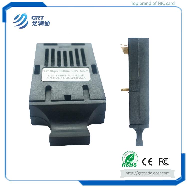 GRT 1×9 1.25Gbps 850nm 3.3V 500m Multimode Optical Transceiver Module