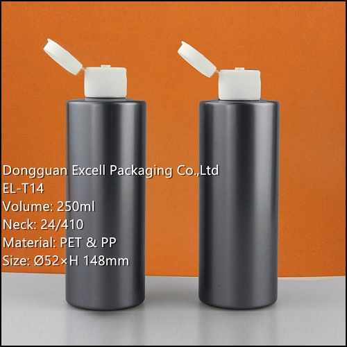 250ml PET Bottle for Cosmetic Packaging