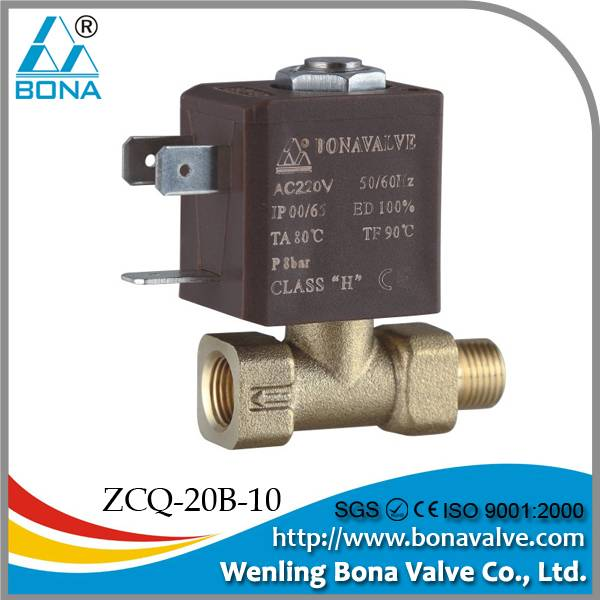 "BONA Male 1/8""* Female 1/8"" Brass Solenoid Valve"