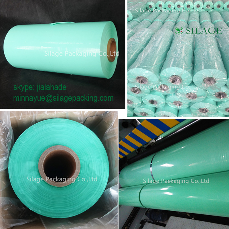 Hot Sale plastic Film,Packing Film for Baler,Good Tensile Strength Opaque Film for Netherlands