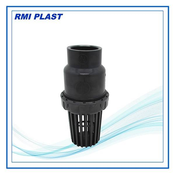 PVC,PP,CPVC,PVDF socket foot valve