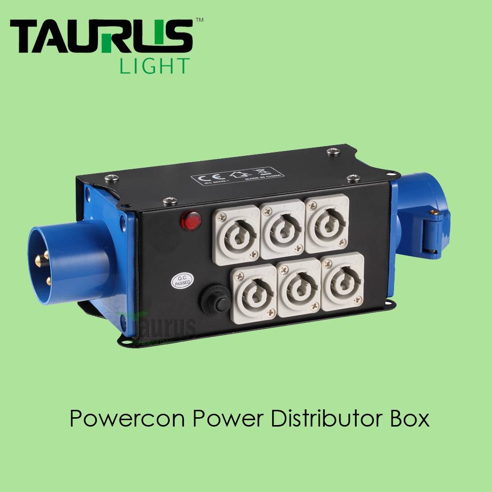 TPB-001Powercon Power Distribution Box