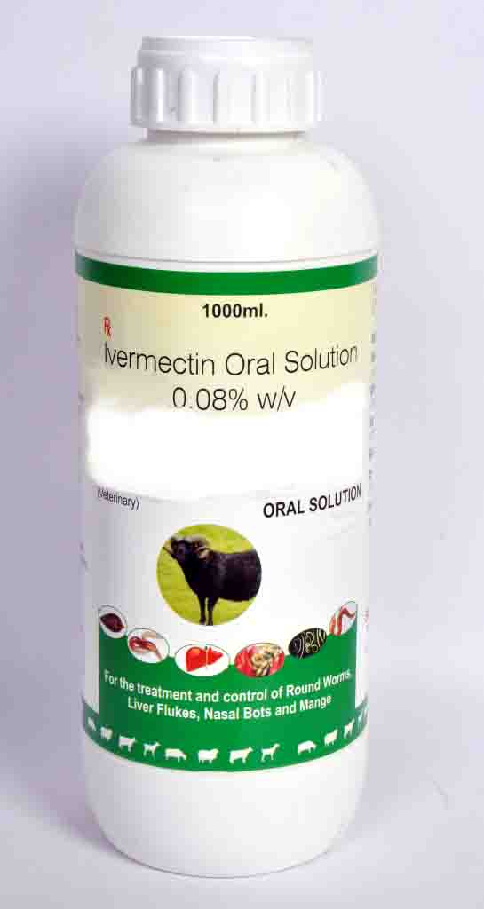 Veterinary Ivermectin Solution