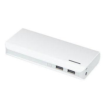 10000mah/20000mah lithium ion battery dual usb outputs