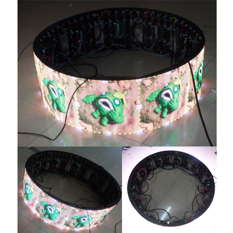 P4mm Cylinder Indoor LED Display Screen