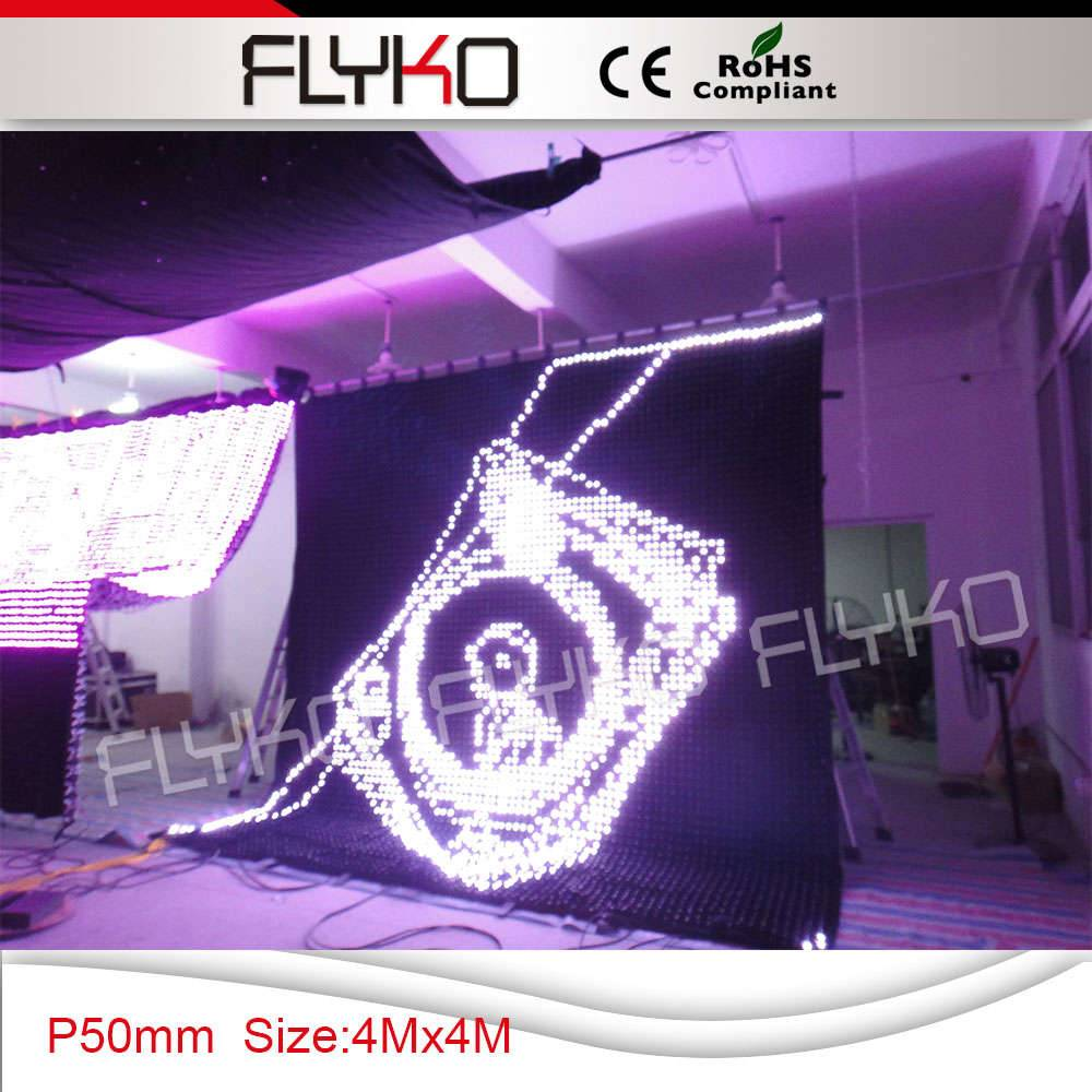 flexible led video curtain