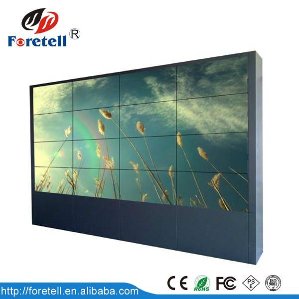 Professional advertising lcd video wall with narrow bezel lcd video wall in low price