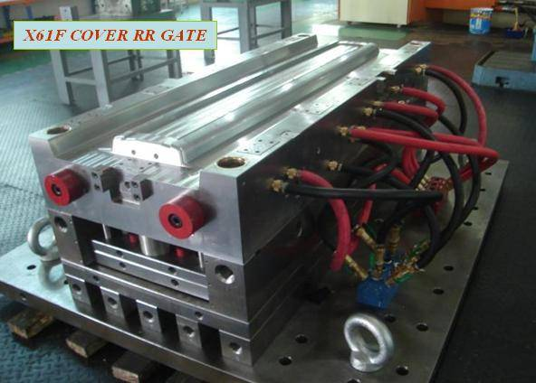 Big Size Hot Runner Plastic Injection Auto Mold