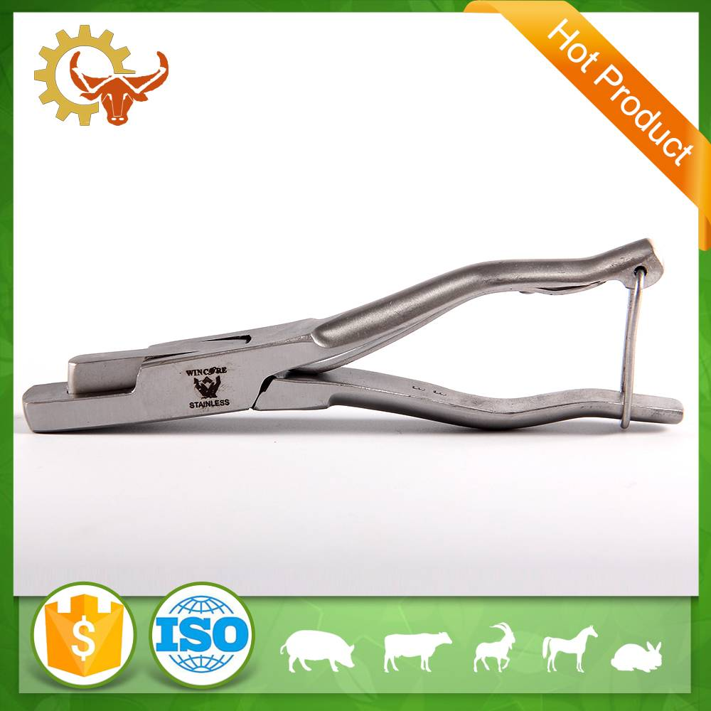 high quality U type ear notchers pliers livestock for cow
