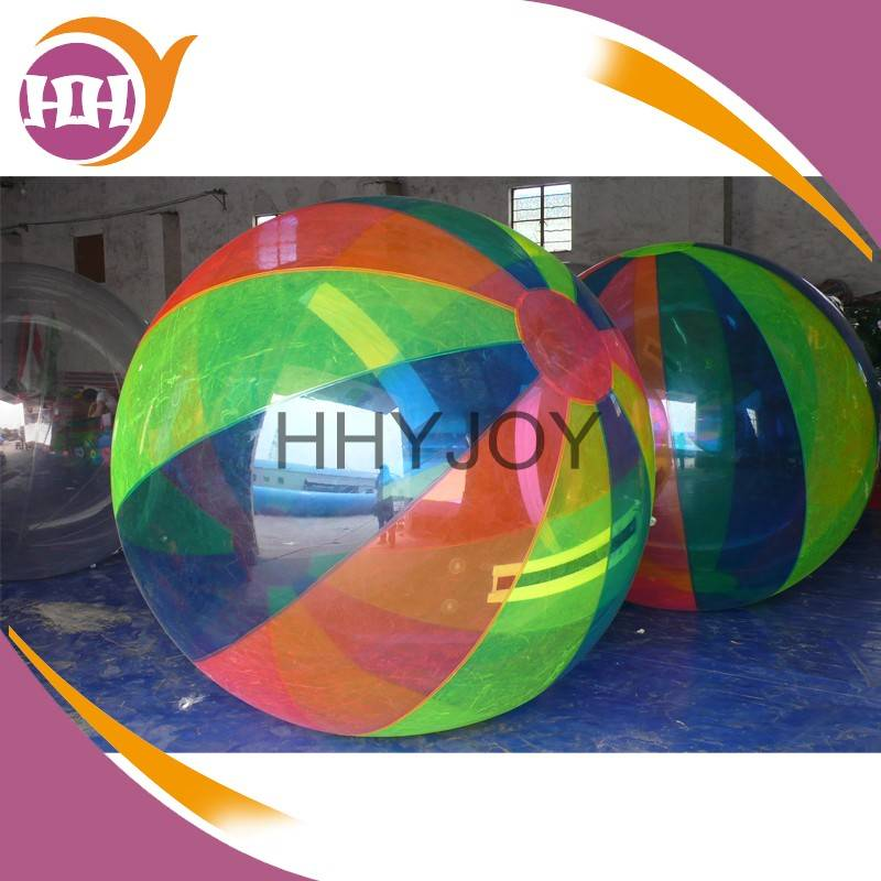 colorful inflatable water walking ball