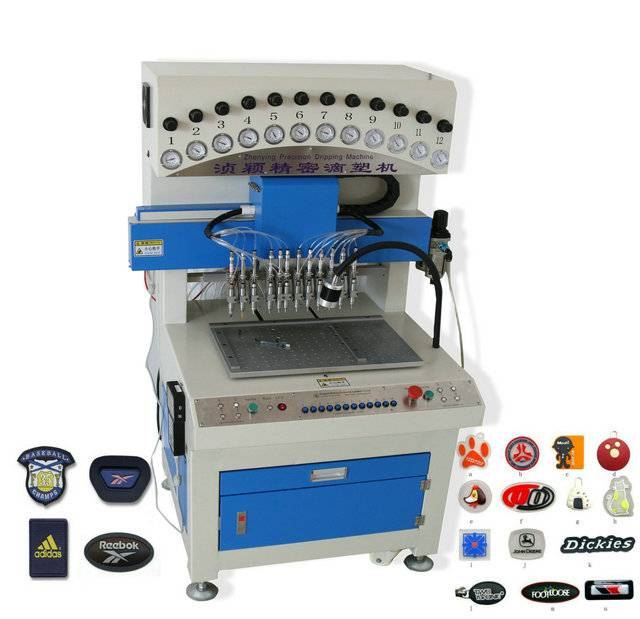 PVC Logo Making Machine