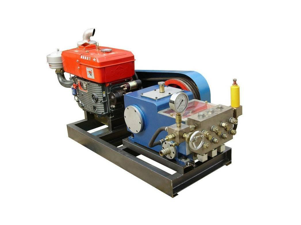 Diesel engine drive sewage cleaner  LF-20/50,test machine