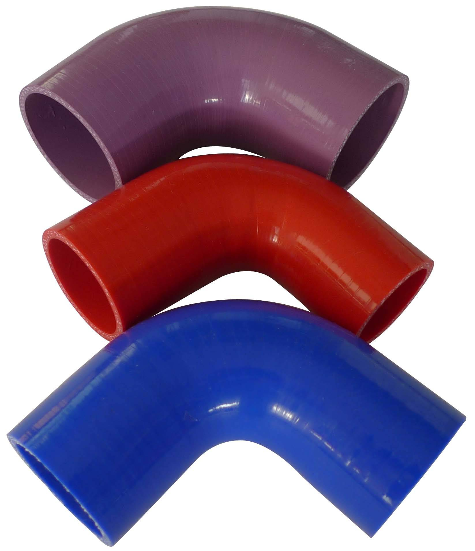 ID11mm Standard 45 90 135 180 degree Silicone Elbow coupler hose standard silicone elbow fittings pi