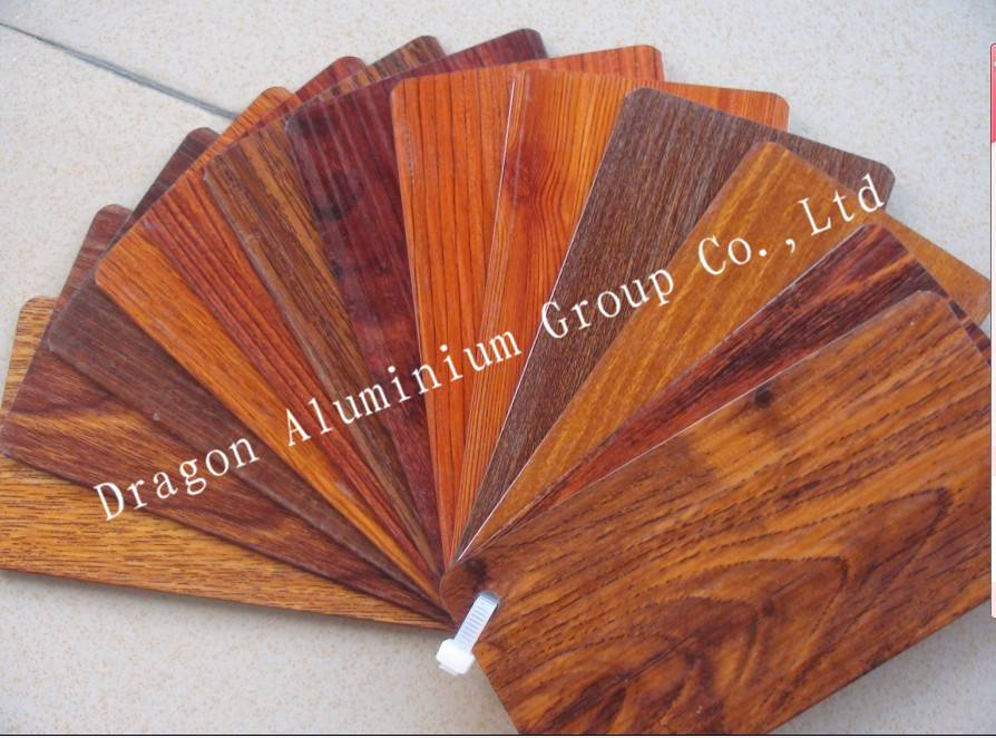 Aluminium Wood/stone Grain Transfer Printing