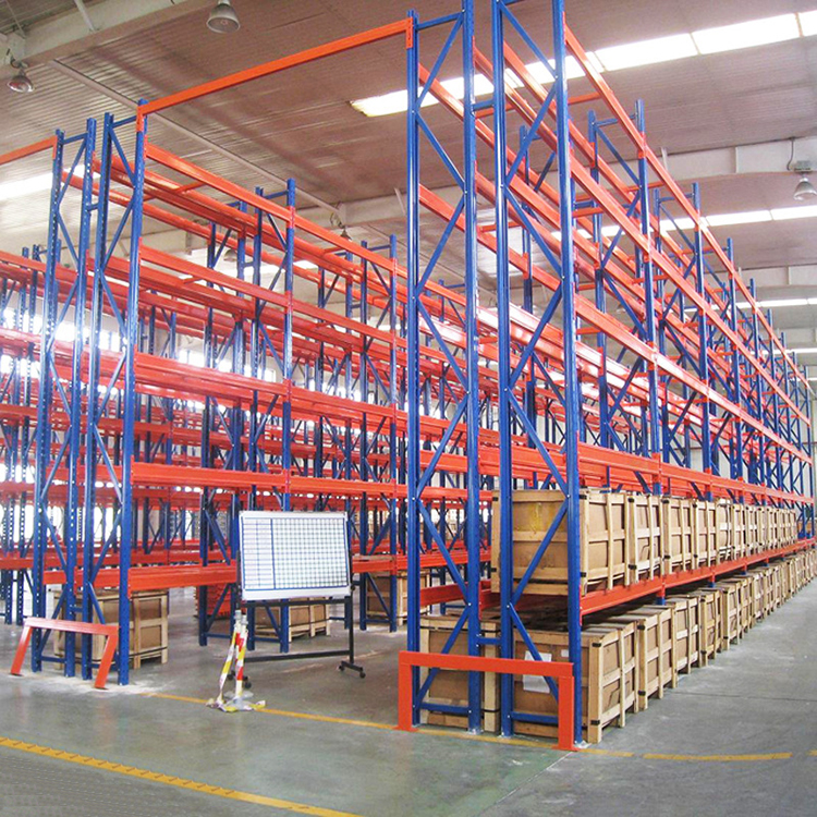 selective steel plate storage mobile pallet rack with warehouse