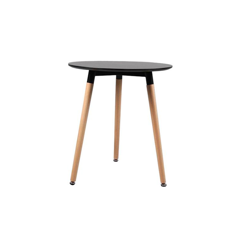 Modern Restaurant Wooden Dining Table MDF Round Dining Table