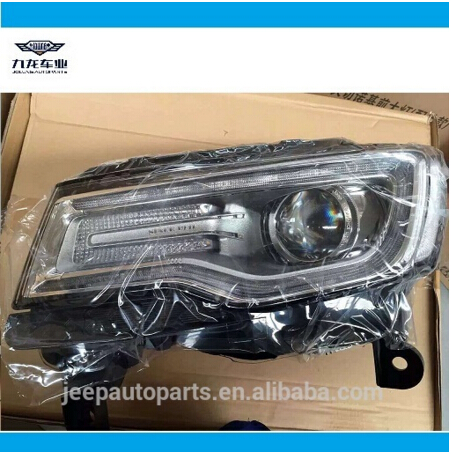Automible spare parts-auto parts-Jeep Grand Cherokee Headlight Head Lamp 2014 Up