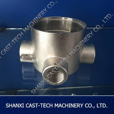 Investment Casting CNC Machining Stainless Steel Pipe Parts