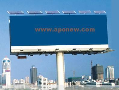 Solar Bill Board & Solar Advertisement Board