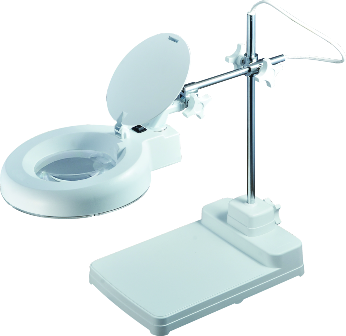 Magnifying Lamp Table Magnifier Heavy Base (8606EL)