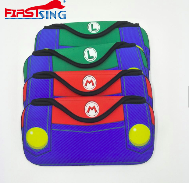 Firstsing Travel Carrying Soft Mario Louis Case Bag For Nintendo Switch