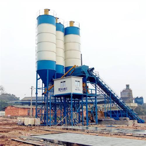 HZS90 Automatic New Mobile Concrete Batching Plant for Sale