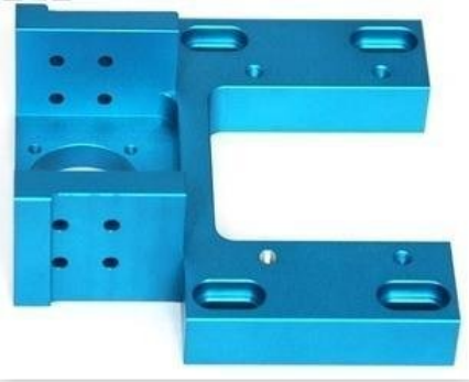 color anodized aluminum CNC maching part in China OEM factory