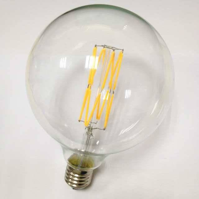 led filament bulb globe G125 led lighting