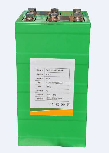 9.6V Lithium Ion Batteries , Li-ion Battery Pack 9V 80AH