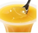 Rusol organic orange pudding