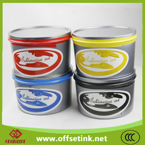high quality for magenta,yellow,cyan,black offset sublimation ink