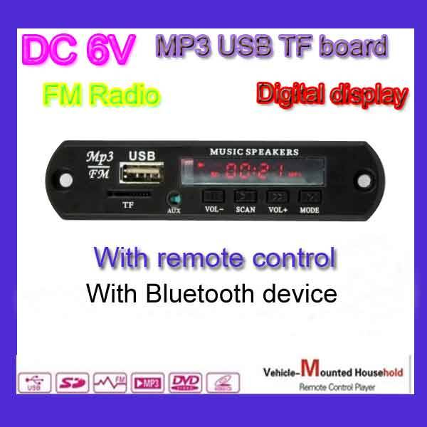 USB TF FM module