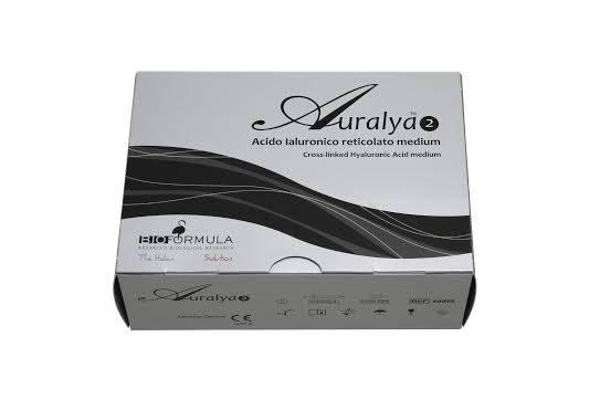 Auralya filler , AURALYA1 thin, AURALYA2 medium , AURALYA3 deep