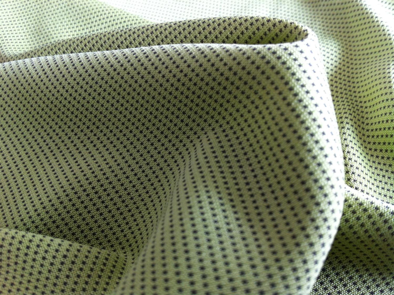 Polyester/Charcoal Bird Eye 130 GR/M2