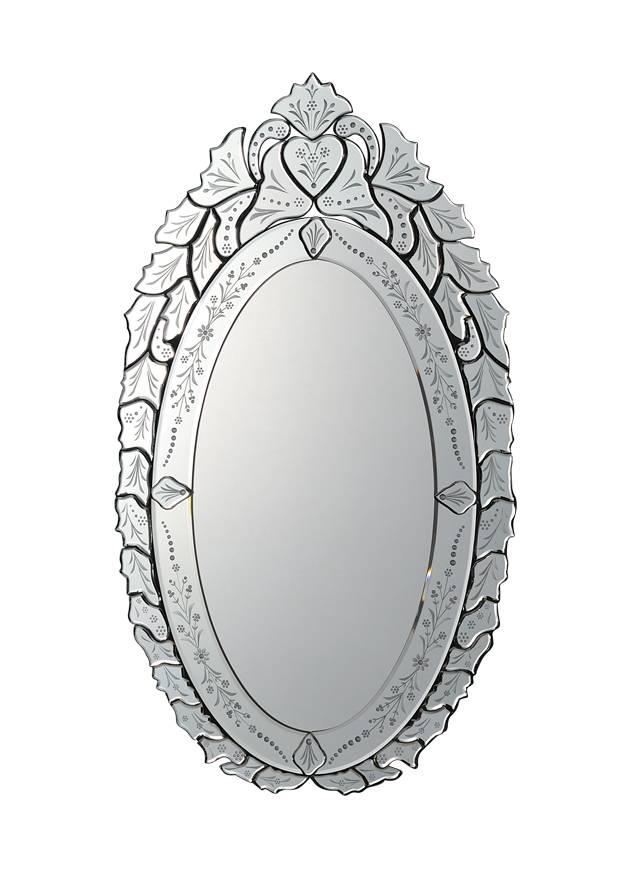 glass art wall decorative venetian mirror