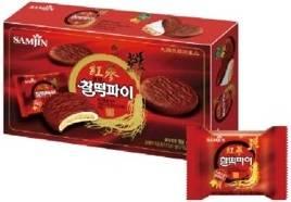 Red Ginseng Mochi Cake
