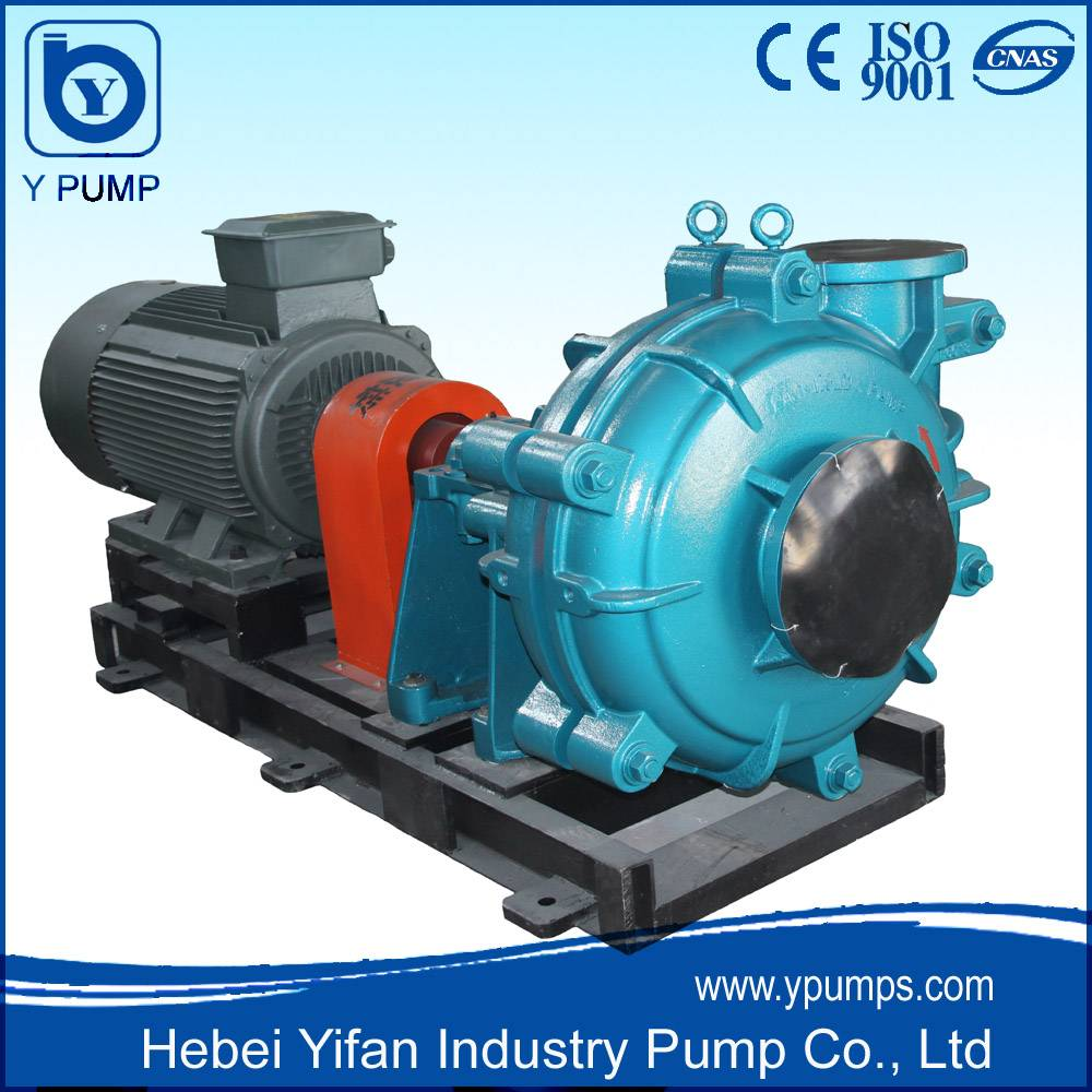 High Efficiency High Chrome Slurry Pump Electric Motor Drive