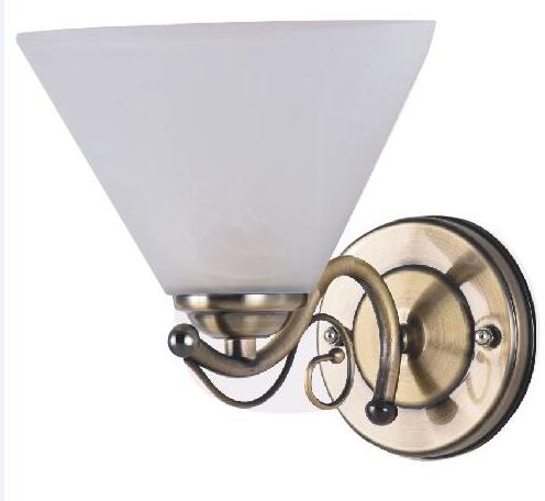 2017 Hot Sale Decorative wall lamp metal lamp, glass lamp