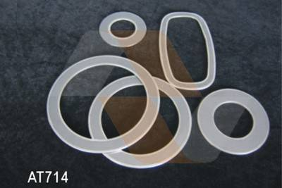 Reinforced Expanded Graphite Gasket With Eyelet