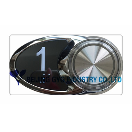 PASSENGER ELEVATOR PARTS ELEVATOR COP BUTTON PUSH BUTTON/GBV04