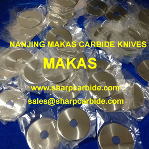 Tobacco Knives, Tobacco blades, Tobacco cutting blades, Carbide Circular knives