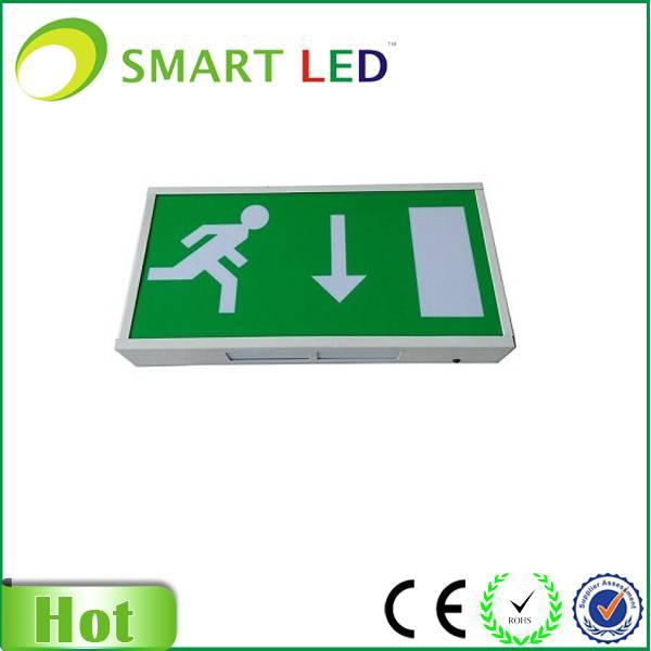 Exit Sign Box Illuminated