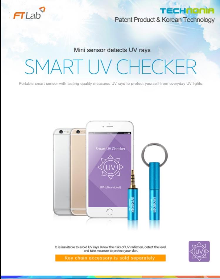 Smart UV Checker (UVA, UVB meter)
