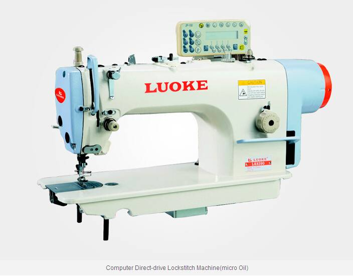 LK8390 Computer Direct-drive Lockstitch Machine(micro Oil)