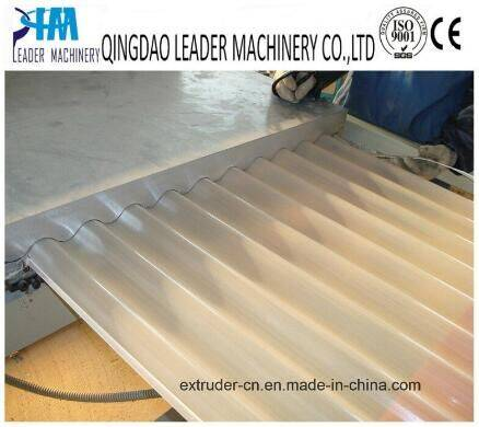 Plastic Sheet Machinery PVC Roofing Sheet Extrusion Prodcution Line